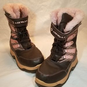 AIRWALK Thermolite Fur Lined Insulated Snow Boots